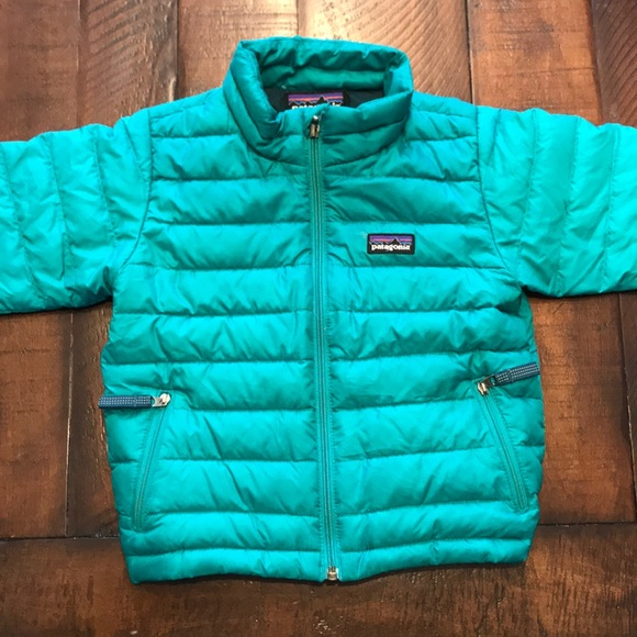 Patagonia Jackets Coats Girls Toddler Size Down Sweater Poshmark